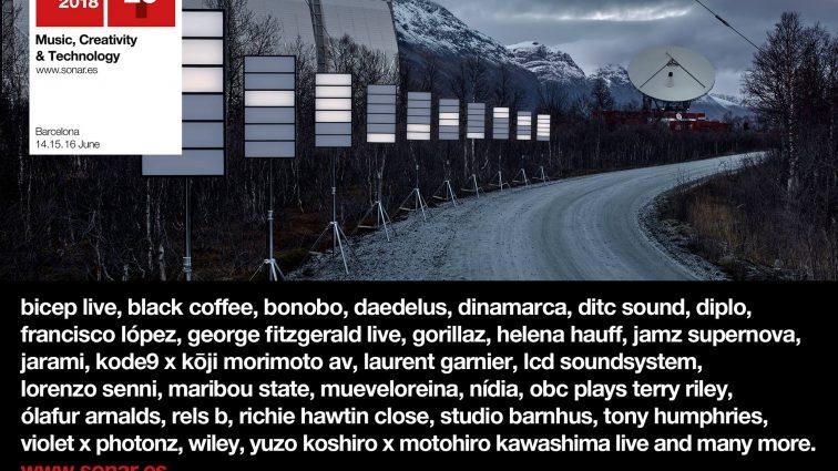 Sónar celebrará su 25º aniversario con el nuevo show de Gorillaz, el regreso en exclusiva de LCD Soundsystem y el impactante dj set de Diplo