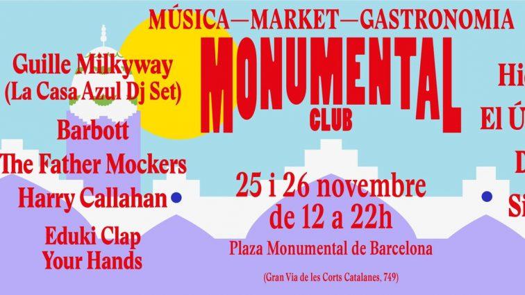 Monumental Club recupera un espacio emblemático de  la ciudad para llenarlo de Dj's en directo, market,   gastronomía y actividades infantiles