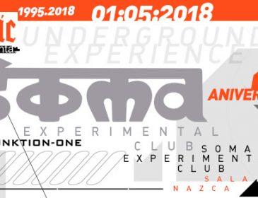 Tony Verdi primer invitado de SOMA para su 23 Aniversario