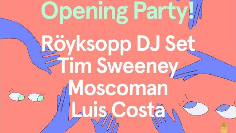 SoundEat celebra su «opening party» el 3 de marzo con Röyksopp, Tim Sweeney y la electrónica de Moscoman