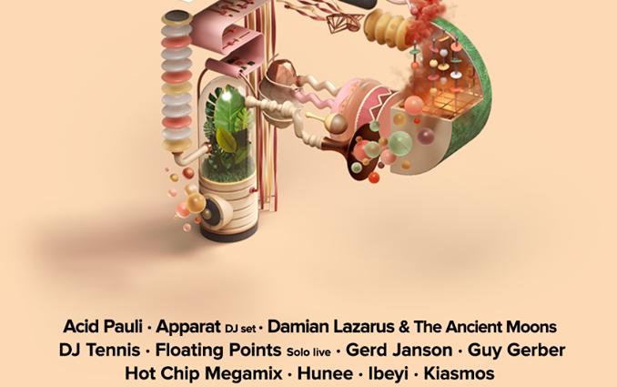 Más confirmaciones para PARAÍSO FESTIVAL 2018 con Floating Points, Damian Lazarus & The Ancient Moons..
