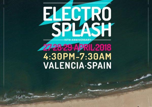 ElectroSplash 2018 vuelve a la playa en su 15 aniversario