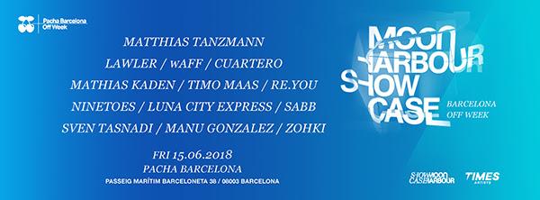 Moon Harbour tomará Pacha Barcelona el viernes 15 de junio