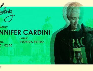 Vuelve El Living en formato XXL con Jennifer Cardini