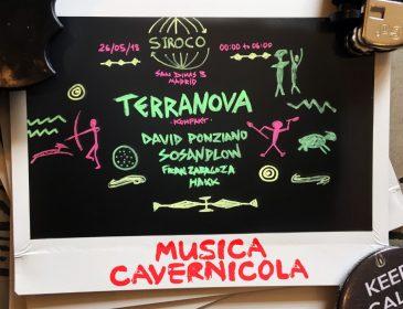 TERRANOVA POR PRIMERA VEZ EN MADRID DE LA MANO DE MUSICA CAVERNICOLA