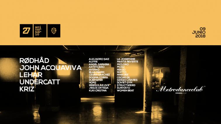JUN9 Metro Dance Club | 27 aniversario