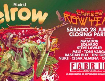 Concurso: ElRow Closing Fabrik 28.07.18