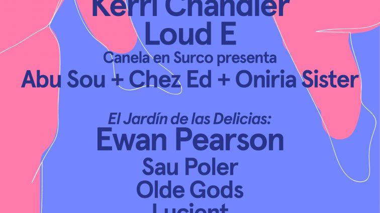 Kerri Chandler, LoudE y Ewan Pearson protagonizan SoundEat de Nit, que tiene lugar el próximo 14 de julio en el marco del Festival Jardins de Pedralbes