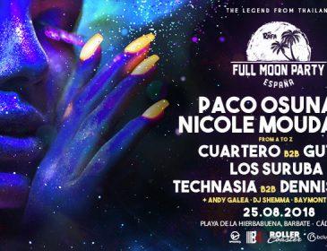 Paco Osuna encabeza las nuevas incorporaciones a la primera edición española de Full Moon Party