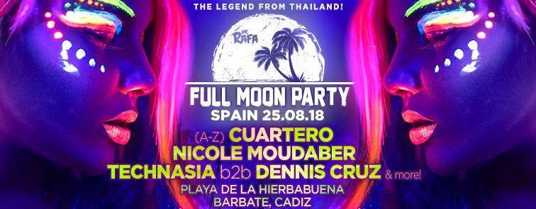 Full Moon Party llega a España desde Tailandia