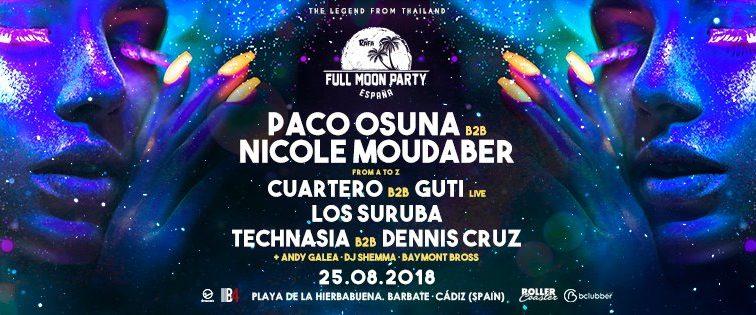 Concurso: 2 entradas dobles Full Moon Party España