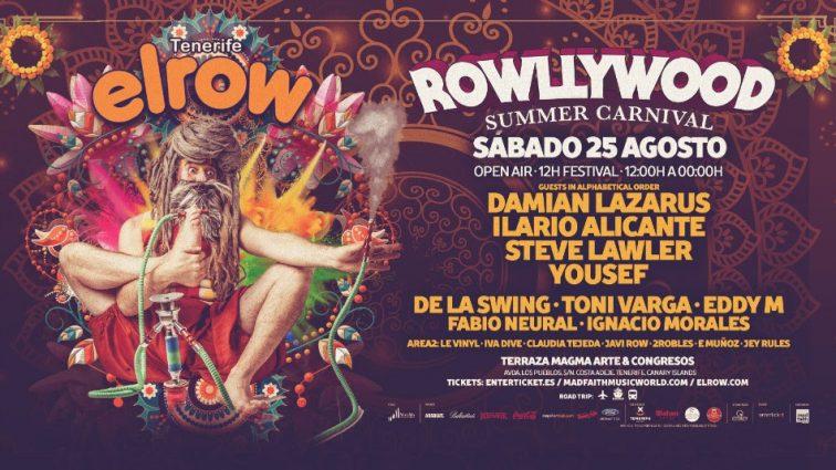elrow llega a Tenerife