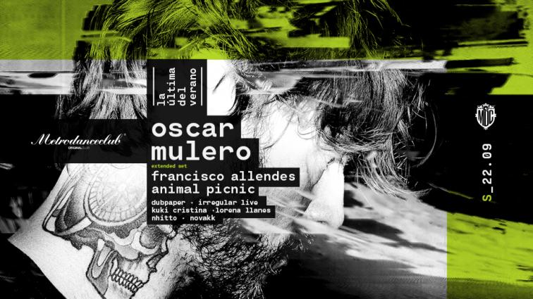Oscar Mulero –extended set– encabeza la próxima de Metro Dance Club
