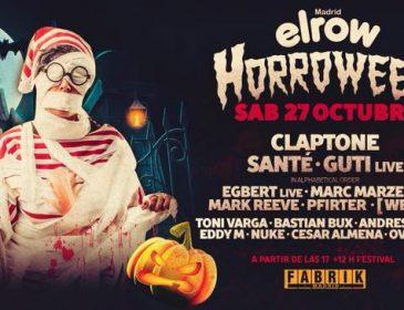 Concurso: 4 entradas dobles ElRow Halloween@fabrik 27.10.18