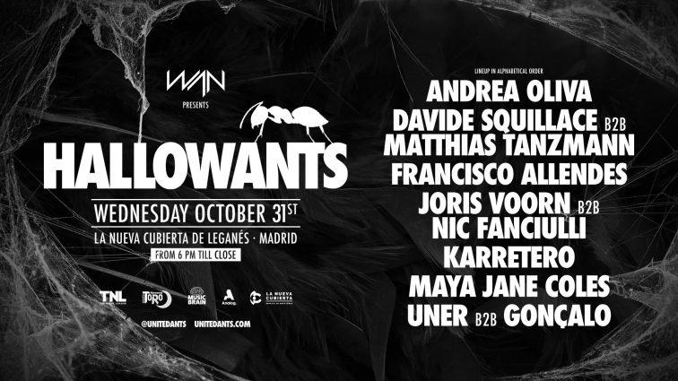 Concurso: 2 entradas HALLOWANTS 31.10.18 Madrid