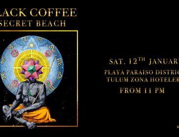 ¡Sound Tulum confirma a Black Coffee para protagonizar un evento «Secreto»!