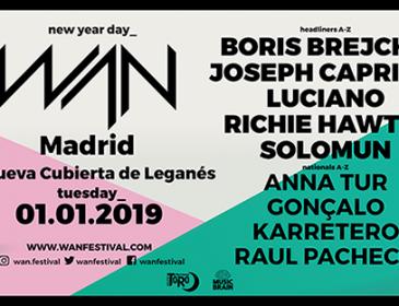 WAN 2019 horarios para el dia de Año Nuevo en La Nueva Cubierta