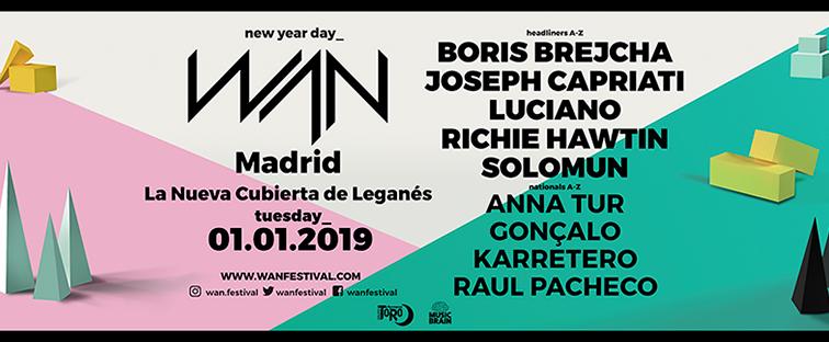 Concurso: 2 entradas Wan Festival 2019