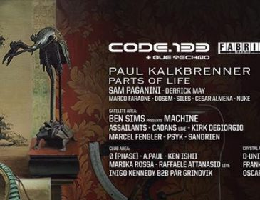 FEB23  Code 133@Fabrik con Paul Kalkbrenner, Ben Sims…