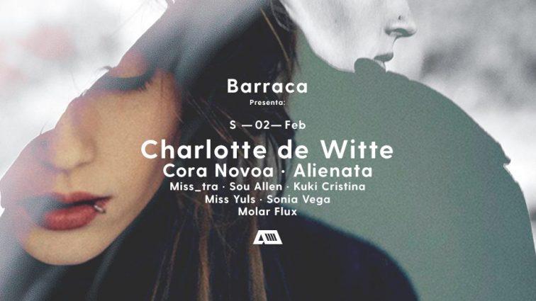 Barraca abre Febrero con Charlotte de Witte