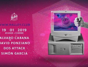 Alvaro Cabana, Dos Attack y Simon Garcia inauguran 2019 en Halley
