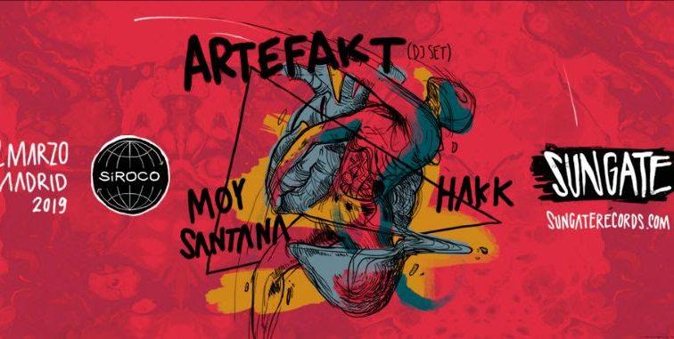 Artefakt se estrenan en Madrid con Sungate en Sala Siroco