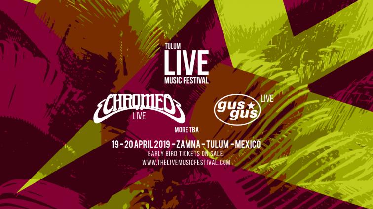 México: GusGus y Chromeo primeras confirmaciones de Live Music Festival en Tulum