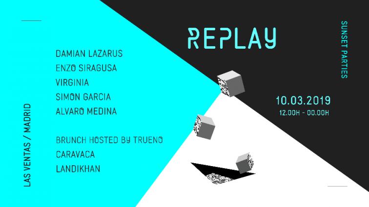 Replay Sunset Parties recibe a Damian Lazarus, Enzo Siragusa y Virginia en su cita de marzo