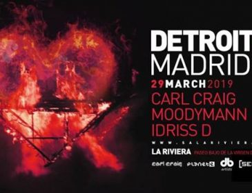 Concurso: 4 entradas dobles DETROIT LOVE@La Riviera 29.03.19