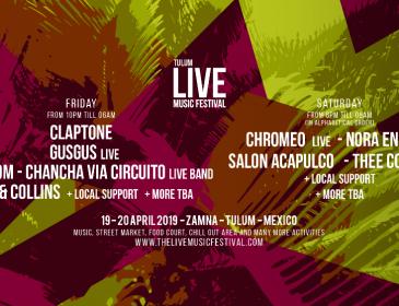 México: Live Music Festival anuncia 6 nuevas confirmaciones