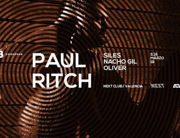 Paul Ritch llega a Barraca el sábado 16 de Marzo @ Next Club