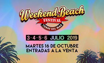 Weekend Beach Festival anuncia su cartel oficial por días y confirma al grupo galés de metal rock SKINDRED
