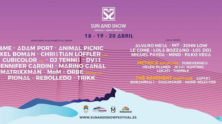Concurso: 2 entradas dobles Sun & Snow Festival 2019 , Sierra Nevada 18,19/20 abril
