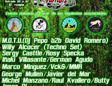 ABR27 T R D Animals Techno Festival Benefico en La Riviera