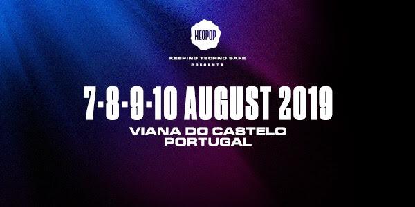 NEOPOP FESTIVAL anuncia más artistas confirmados de su edición 2019