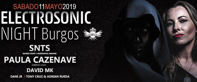 Concurso: 2 entradas dobles Electrosonic Night@burgos 11.05.19
