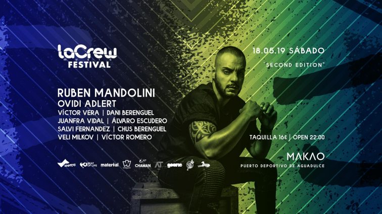 MAY18 LaCrew Music «Festival» ¬ Sábado 18 MAYO en MAKAO