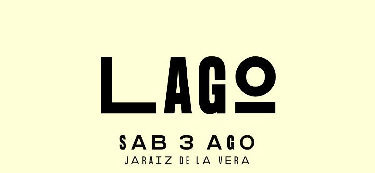 LAGO FESTIVAL ANUNCIA SUS PRIMEROS ARTISTAS PARA 2019