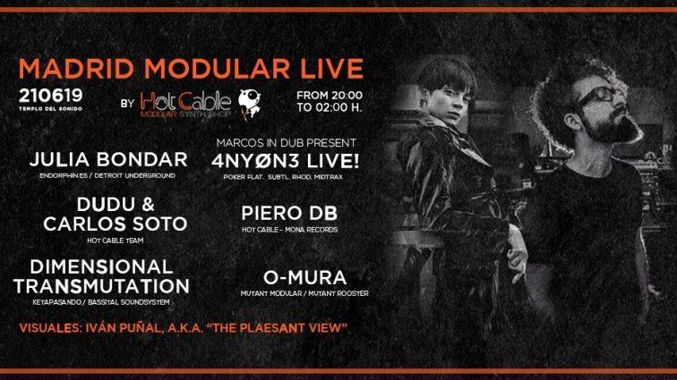 JUN21 Madrid Modular LIVE