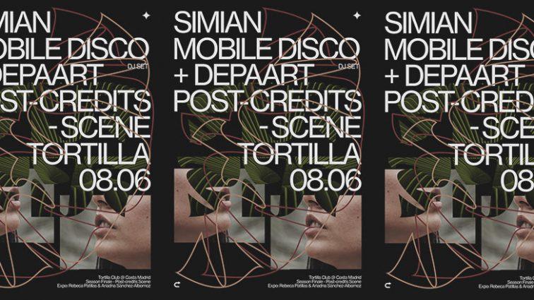 Simian Mobile Disco a cargo del re-cierre de Tortilla