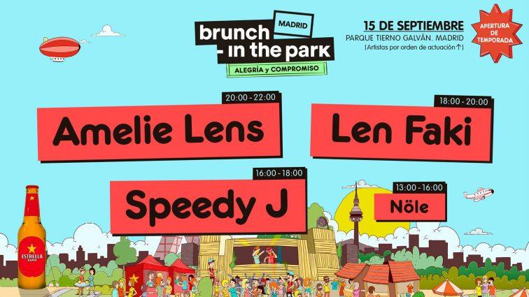 SEP 15 Brunch -In the Park #1: Amelie Lens, Len Faki, Speedy J +
