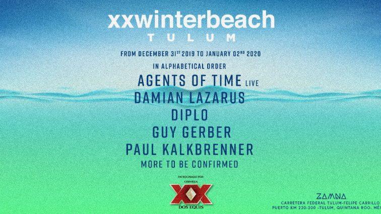 Zamna Tulum anuncia fiesta de fin de año con Paul Kalkbrenner y primera fiesta del 2020 con Diplo, Damian Lazarus y muchos más