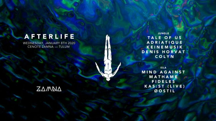 Afterlife desvela su line-up completo para Zamna Tulum