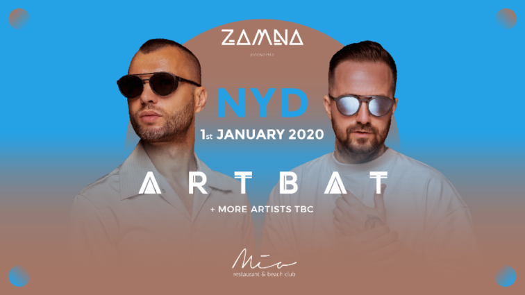 Zamna celebrará el primer día del año con ARTBAT