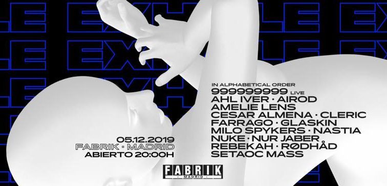 DIC5  Exhale@Fabrik  by Amelie Lens