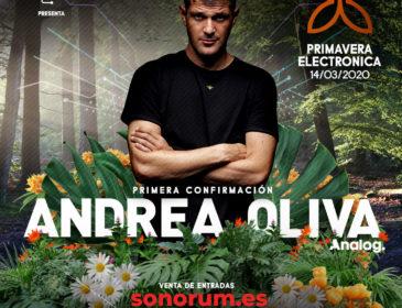 El festival granadino Primavera Electrónica anuncia su primera confirmación: Andrea Oliva