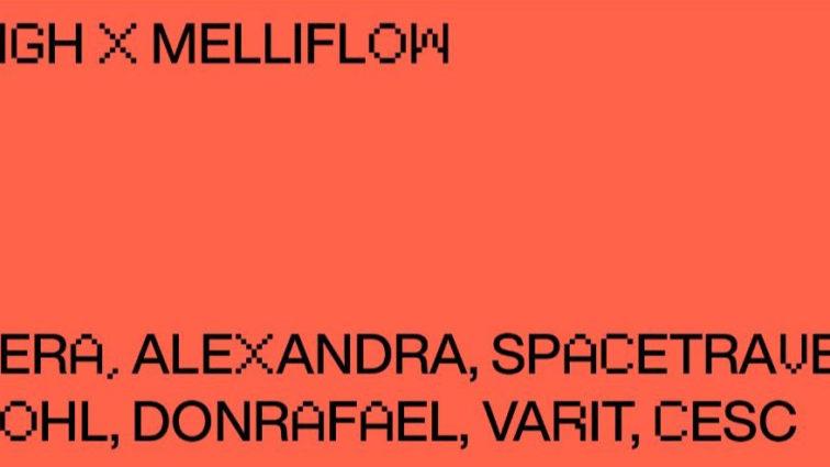 Melliflow aterriza en Madrid gracias a Sigh Club junto a Vera, Alexandra y Spacetravel