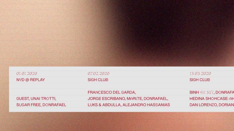 Diggers y vinilos con Francesco del Garda y Binh en febrero y marzo de Sigh Club.