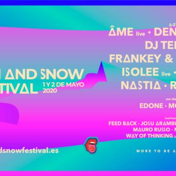 Sun & Snow Festival 2020 deslumbra con su primer avance de cartel