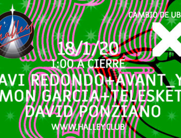 Halley abre 2020 con Javi Redondo, Avant_Y, Simón García y Telesketch